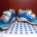 Кроссовки play&shoes голубые 22й размер б/у